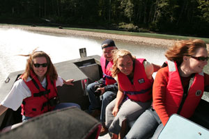 Exchamsiks River jet boat tours